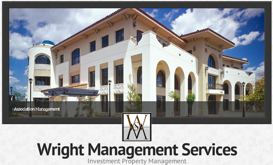Wright Management Services website