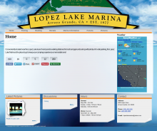 Lopez Lake Marina website