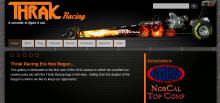Thrak Racing website