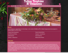 Tulips, Trohpies & Treasures website