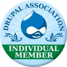 Drupal Association Individual Member Badge