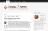 Corolla Theme for Drupal 7 by Kiwi Themes